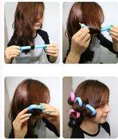 adhesive rollers - SOFT ANION EPE BENDY HAIR ROLLERS STYLING FOAM CURLERS SALON HAIR DO DIY Self adhesive Magic EPE Foam Hair Roll Stick