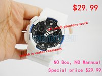analog time - 2016 top quality relogio G men s sports watches with all pointers work waterproof chronograph wristwatch no box no mannual