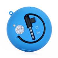amplify mobile pc - Protable Mini hamburger Speaker Audio Amplifier for Phone PC MP3 MP4 Blue amplified motorcycle speakers