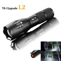Wholesale E17 CREE XM L2 LM tactical cree led Torch Zoom cree LED Flashlight Torch light