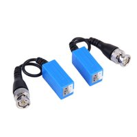 Wholesale new Press fit Single Channel Passive Video Balun Twisted Pairs For CCTV Video