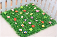 artificial grass carpet - 25 CM Artificial Imitation Fake Grass Carpet Plastic Lawn for Garden House Nursery Schools Decoration