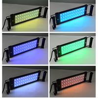 Wholesale 117cm W Multicolor LED Strip Aquarium Lights for Indoor Lighting Decorations High Brightness RGB LED Aquarium Lights for Fish