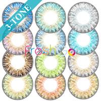 big lenses - freshgo contact lenses tone contact lenses big size colors eye lenses freshloo soft colored contacts via DHL
