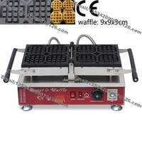 belgian waffle irons - Commercial Use Non stick v v Electric cm Belgian Liege Waffle Maker Iron Baker Machine Mold Plate Pan