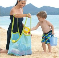 Wholesale Sand Away Carry All Beach Mesh Bag Tote Swim Toys Boating XL size outdoor travel Hot Selling Style A047