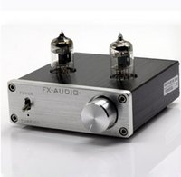 audio preamplifier - FX AUDIO TUBE DC12V A Bile Preamp Tube Amplifier Buffer J1 HIFI Audio Preamplifier preamplificador Silver