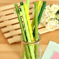 bamboo stationary - Cute Pens Bamboo Shape Gel Pens Pen Stationary Home Desktop Decorations Office School Writing Pens
