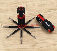 Wholesale 80pcs In Multifunctional Screwdriver Tools Set Tool Kit With LED Flashlight Powerful LED Light Torch
