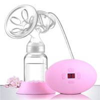 automatic breast pumps - Portable Electric Breast Pump Safety Postpartum Child Maternal Supplies Healthy Full Automatic Manual Pump Power Supply Pacifier