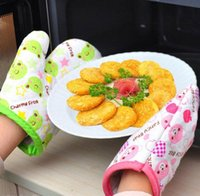 Wholesale Oven Glove Heat Resistant Themal Glove Kitchen Oven Mitt The Perfect Glove For Hot Object Kitchen Keepers Glove