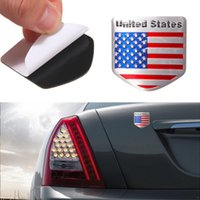 american flag stickers for cars - 1pcs Car Styling The United States American Flag Car stickers For Cadillac for Buick for Chevrolet for Lincoln for Jeep for BMW