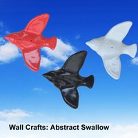 Wholesale resin ceramic Swallow Birds wallstickers wall hotel home decals decorate arts wall hanging Swallow bird handmade D sculputure handicrafts