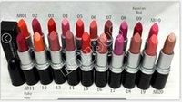 Wholesale New Professional Makeup Lips AA9 Lustre Lipstick g