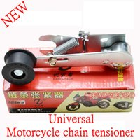 adjust motorcycle chain - New Motorcycle chain tensioner Automatically adjust the tightness skid chain guide
