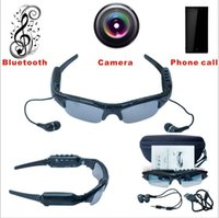 Wholesale New Camera G SD Card Bluetooth MP3 Handfree Phone call Sunglasses for iPhone Samsung HTC LG
