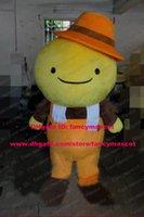 beans nutrients - Nutrient Yellow Soybean Soya Soy Bean Pea Legumina Mascot Costume Cartoon Character Mascotte Orange Hat Brown Shirt Feet ZZ1514