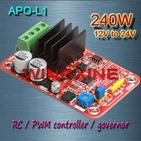 Wholesale APO L1 DC brush motor PWM controller RC speed controller W MAX V V