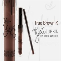 Wholesale Kylie Lip Kit by Kylie Jenner TRUE BROWN K Lipstick Liner Gloss Matte Brand New