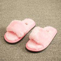 Wholesale HOT Kid Unisex Soft Plush Home Slipper Casual Toddler Boy Girl Children Antiskid Warm Winter Slippers Household Shoe Pantufas