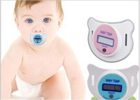 Wholesale New LCD Digital Infant Baby Temperature Nipple Thermometer Express