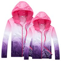 Wholesale New Windproof Breathable Men Running Jacket Windbreaker Women Outdoor Windbreaker Sports Jackets For Men UV proof Coat Male