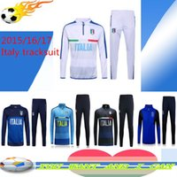 Wholesale Thai Italy nation team tracksuit jacket Italy Survetement Football shirt Training clothes coat chandal sports Rugby jerseys
