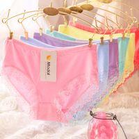 bamboo edge - Bamboo charcoal fiber underwear underwear lace lace briefs women s edge
