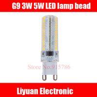 Wholesale G9led lamp bead W super bright crystal chandelier lamp beads W ceiling lamp energy saving lamp bead insert bulb halogen bulb transfo