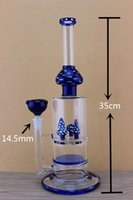 best smoking hookah - 2016 NEW Glass Hookahs Smoking Water Bongs Mushroom and Turbine Percolators Best Quality with mm Joint Glass Bowl Water Pipes