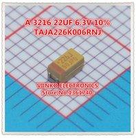 avx tantalum capacitors - A UF V AVX SMD Tantalum Capacitor TAJA226K006RNJ