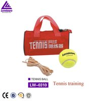 Wholesale Lenwave Brand Belt Line Tennis Training set tennis ball training fluorescence color training tennis ball
