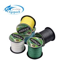 Wholesale Agepoch m Braided Multifilament Super Power Pe Fishing Line Rope The Peche Spearfishing Cord Wire Peche Carp Winter Thread