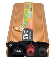 dc converter - 2000W Car Power Inverter DC V to AC V Modified Sine Wave Converter with USB