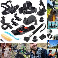 Precio de Plata hero4 gopro-referencia accesorios GoPro 12-en-1 para deportes al aire libre Kit esencial para GoPro Hero4 Plata