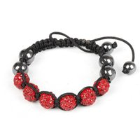 beauty disco - Shamballa Bracelets Disco Balls Beauty Crystal Adjustable Bracelets For Women mm