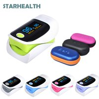 Wholesale Digital finger oximeter OLED pulse oximeter display pulsioximetro SPO2 PR oximetro de dedo oximeter a finger with carrying case