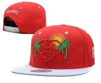 Sombrero barato del Snapback de MMG Maybach Grupo de la música Brim Snapbacks Plano Hip Hop Sombreros Hombres Mujeres Summer Beach Sun Cap Deportes Gorras