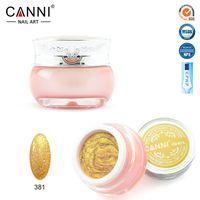 art design glitters - CANNI colors nail art design for nails soak off uv led starry glitter uv paint gels uv glitter powder gel