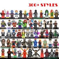 Wholesale 600pcs Minifigures For Single Sale Marvel Super Heroes star war avengers Batman harry potter building Blocks Model Bricks Toys M374
