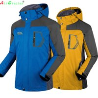 aire camping - Fall TOP Quality Men Jackets Outdoor Windproof Camping Sports Coat Men Tourism Mountain Jacket Clothing Chaqueta Al Aire Libre