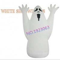airblown inflatable decorations - 5M Airblown Giant Halloween Decoration Inflatable Halloween Ghost with Blower