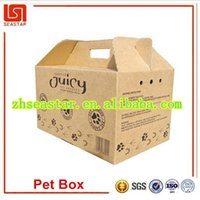 Wholesale New product China supplier competitive price best quality custom durable lightweight recyclable pp plastic pet carrier box cages