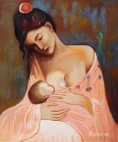 artist picasso paintings - Maternity Artist Interpretation Pablo Picasso famous paintings oil canvas reproduction High quality Hand painted
