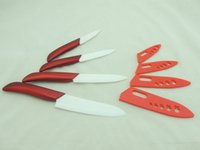 best ceramic knives sets - Red Color ABS Handle Kitchen Ceramic Knives Set Pieces of quot quot quot quot Hot Selling with Best Price