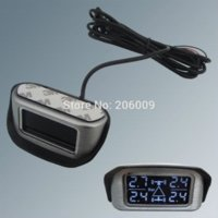 adjustable pressure sensor - In Stock SPY Wireless Car TPMS Tire Pressure Monitor System With Internal Sensors amp Angle Adjustable LCD Display Fast Shipping