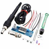 basics units - Hot DIY Electric Unit High quality Basic Ability PracticalDigital Soldering Iron Station Temperature Controller Kits T12 Handle