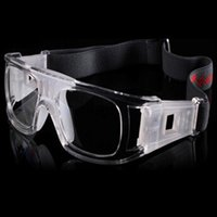 basketball training goggles - Adjustable Basketball Soccer Football Sports Protective Eyewear Goggles Eye Safety Elastic Glasses with Box Carry Train Exercise