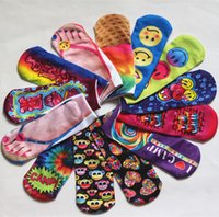 Wholesale Cut Ankle Socks D Print women clothing women Socks Unisex Cute Low Cut Ankle Socks Multiple Colors lady Casual funny Shape