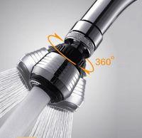 Wholesale Brand New Two modes Shower Head Bathroom Kitchen Economizer Pressurization Filter Water Stream Faucet Tap Bubbler Splash Water